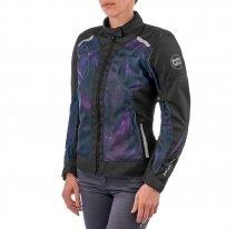 M02525 (черный/фиолетовый, XXS), Куртка текстильная  MOTEQ Destiny, женский