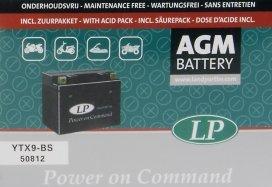 YTX9-BS, Ytx9-bs аккумулятор мото agm
