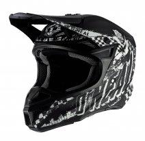 0628-3 (черный/белый, L), Шлем кроссовый O'NEAL 5Series RIDER, размер L, цвет черный