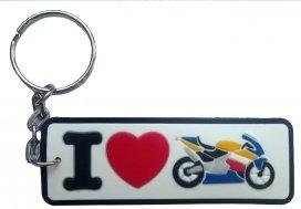 PVC-i_moto, Брелок i love moto