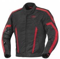X56022 (Черный/Красный, S), Куртка текстильная Randell черно-красная