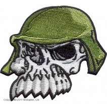 01341103, Skull Toother-Череп в каске.