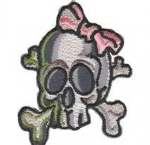15411167, Framing skull-огненный череп.