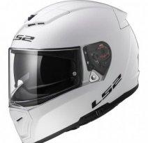 Мотошлем LS2 FF390 Breaker Solid, белый