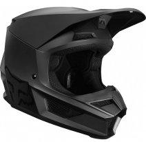 Fox Racing V1 Matte 2019 Black шлем кроссовый