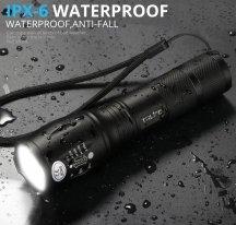 Фонарь аккумуляторный с мощным светодиодом trlife XM-L2