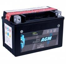 IA YTX9-BS, Аккумулятор intAct IA YTX9-BS, 12V, AGM