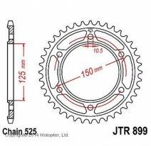 899.42, Звезда задняя (ведомая) jtr899 для мотоцикла стальная