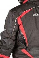 A07576 (черный/желтый, XL), Снегоходная куртка ARCTIC  черная/флуоресцентно желтая
