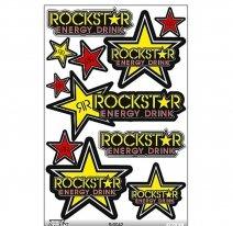 ST0042, Наклейки Rockstar
