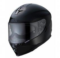 X14069, Шлем интеграл IXS HX 1100 1.0, глянец, размер M, цвет черный