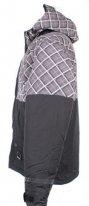 X80007-039-XS, Куртка для езды на снегоходе square серая клетка., размер XS