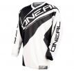 0024R-103, Джерси element racewear чёрно-белая, размер M, цвет Черный