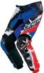 0124S-530, Штаны elements shocker чёрно-красно-синие, размер 30/46, цвет Синий/голубой