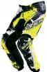 0124S-630, Штаны elements shocker черно-желтые флуоресцентные, размер 30/46, цвет Черный