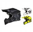 0200-S (Белый/черный, S), Шлем кроссовый O'NEAL 2Series RL SLICK, размер S, цвет белый