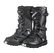 0324KR-10 (Черный, 32), Мотоботы кроссовые детские RIDER