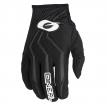 0392-110, ПЕРЧАТКИ кроссовые ELEMENT RACEWEAR, размер L/9, цвет черные