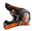 0623-553, Кроссовый шлем 3Series FUEL чёрно-оранжевый, размер M