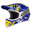 0623-Z03, Шлем кроссовый 3SERIES ZEN синий, размер M, цвет синий