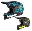 0627-1 (синий/черный, S), Шлем кроссовый O'NEAL 3Series RIDE, размер S, цвет синий
