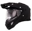 0815 (Термопластик, глянец, Черный, XL), Кроссовый шлем SIERRA ADVENTURE PLAIN чёрный