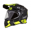0817-C23, Шлем кроссовый со стеклом Sierra II COMB, размер M, цвет черный