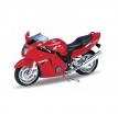 12143P, Модель мотоцикла 1:18 Honda CBR1100XX, цвет красный