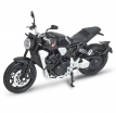 12852P, Модель мотоцикла Honda CB1000R 1:18, цвет черный