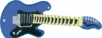14461161, Нашивка guitar blue - гитара синяя