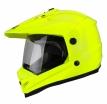 260-20432, Шлем кроссовый со стеклом DSE1 флуоресцентнно-желтый, размер S