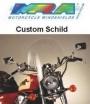 342-9047-00, Ветровое стекло customshield mra для naked байков, цвет прозрачное