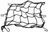 395-115, Сетка для багажа (паук) черная, цвет черная