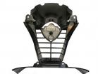 518-400-020, Пластик решетки воздухозаборника для мотоцикла yamaha yzf r6 rj11 2006-2007, цвет черный
