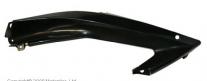 518-400-030, Верхняя часть левого бокового пластика yamaha yzf r6 rj11 2006-2007, цвет черный