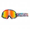 6024-501O, Маска кроссовая O'NEAL B-10 CRANK, разноцветные, иридиевые линзы