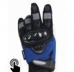 A01305-004-S, Текстильные перчатки mayhem touch синие, размер S