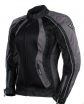 A01502-039-L, Мотоциклетная текстильная женская куртка xena черная, размер L