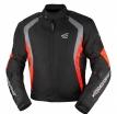 A01521 (Черный/Красный, S), Куртка текстильная Rikko, размер S, цвет черно-красная