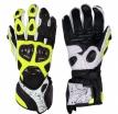 A02304-351-11, Мотоперчатки кожаные evolution черн/жел/бел, размер XL