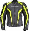 A02505 (Черный/Желтый, XL), Кожаная куртка Corsa черно-желтая, размер 54