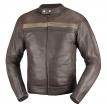 A02523 (Коричневый, M), Кожаная куртка Brut коричневая, размер M, цвет коричневый
