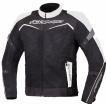 A02527-031-13, Текстильная куртка Testilo черно-белая, размер M, цвет белая