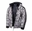 A02530 (Черный/Белый, S), Снегоходная зимняя куртка Pixel 2 в 1