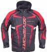 A07566 (Черный/Красный, S), Снегоходная куртка ARCTIC II,черная/красная