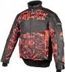 A07586-321-M, Снегоходная куртка taiga, черная/красная, размер M