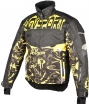 A07586 (Черный/Желтый, M), Снегоходная куртка Taiga, черная/желтая