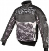 A07586 (Черный/Серый, размер XS), Снегоходная куртка Taiga, черная.
