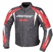 A07712-032-12, Куртка текстильная SUBWAY черно-красная, размер S, цвет черно-красная