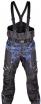 A07785-034-M, Снегоходные штаны taiga, черный/синий, размер M
